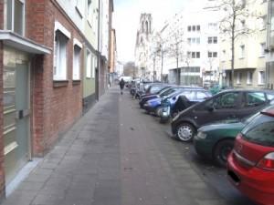 Radweg in der Lupusstrasse