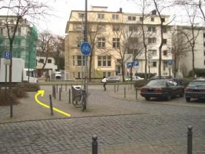 Radweg Schillingstrasse